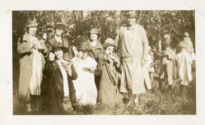 Ladies and children picnic, 1925