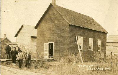 Dean Lake Town Hall Circa 1925