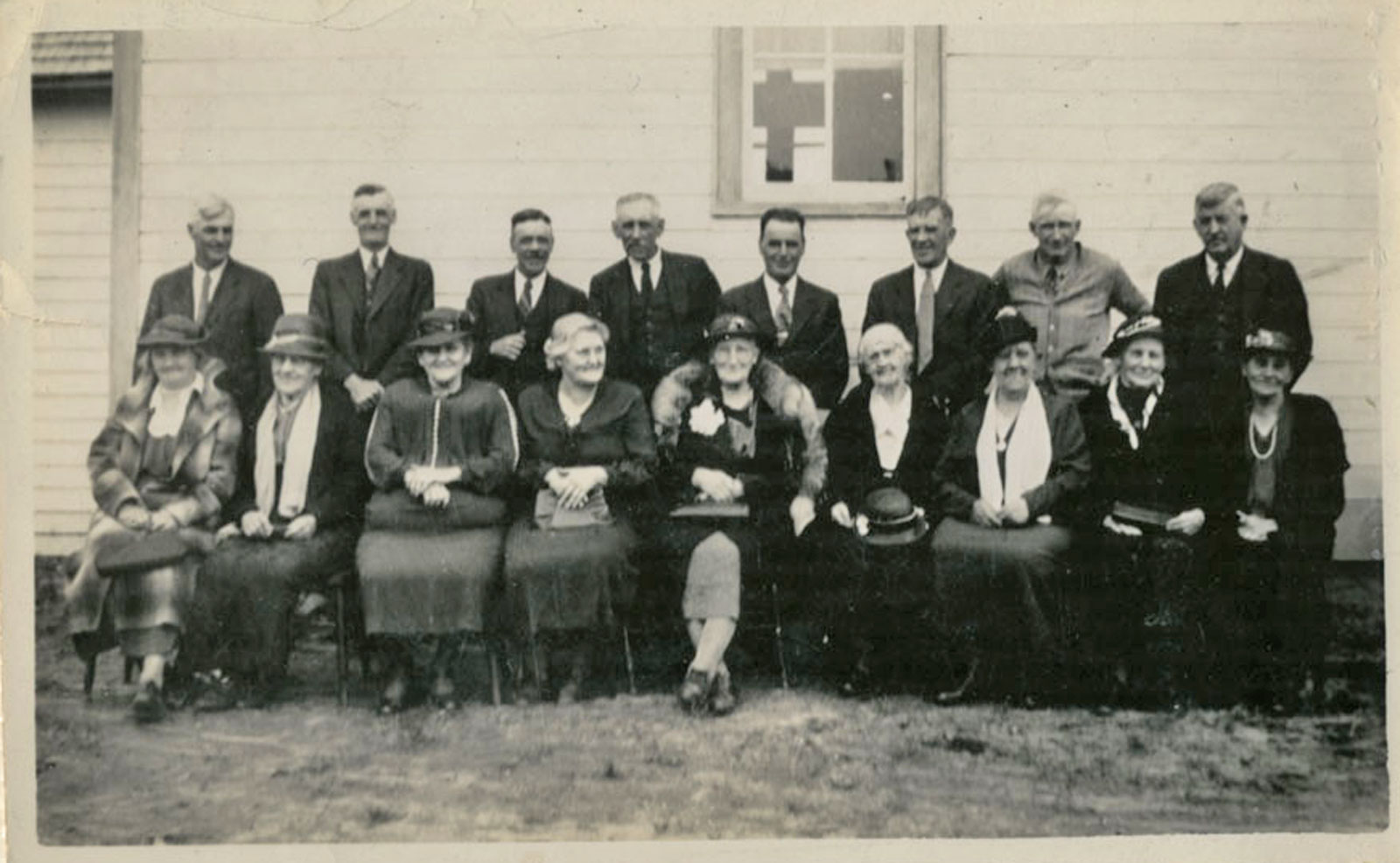 Iron Bridge United Church Reunion - Circa 1938