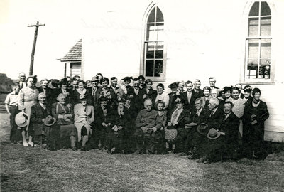 Iron Bridge United Church Reunion - Circa May 1942