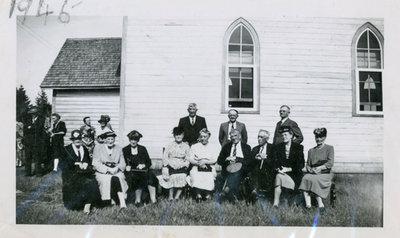 Iron Bridge United Church - 1945