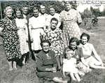 Iron Bridge Women's Group At The Home Of Mrs. Nelson Warnock - 1945