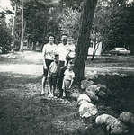 Reverend and Mrs. Douglas Warren And Family At Camp MacDougall.