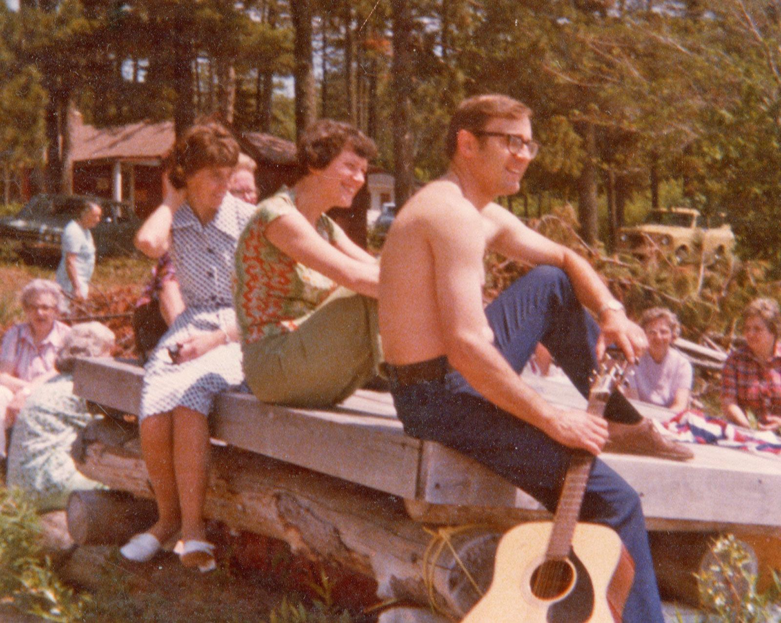Lorraine McClelland, Val and Randy Fiegehan