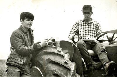 Boys on a Tractor