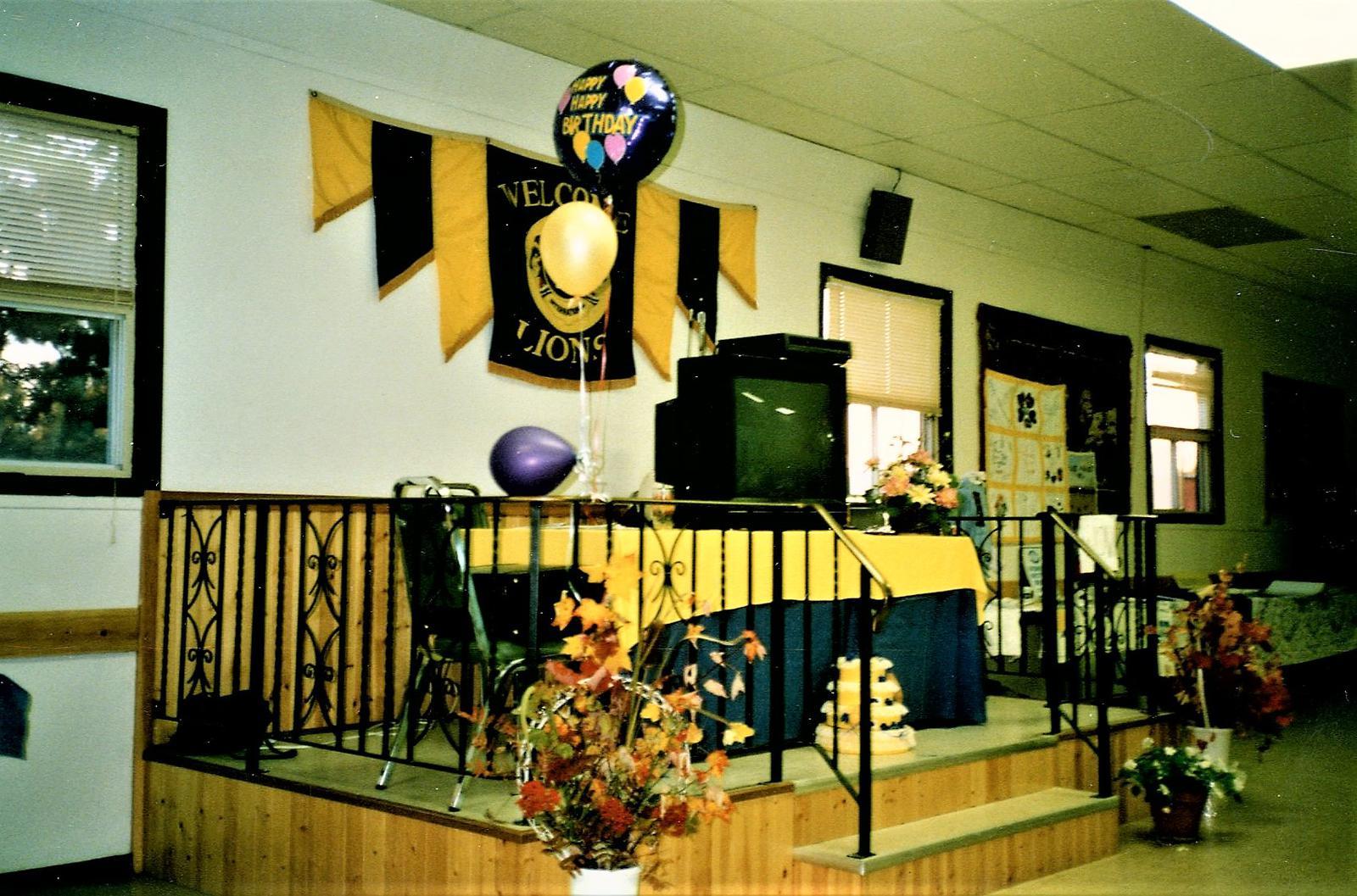 Lion's Birthday Party