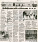 Firefighters Recall Great Mississagi Fire of '48, 2006