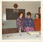 Women's Institute 75th Anniversary Tea, Iron Bridge, 1972