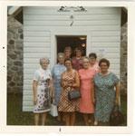 Iron Bridge Women's Institute Special Events, St. Joe`s Island  Trip, 1973