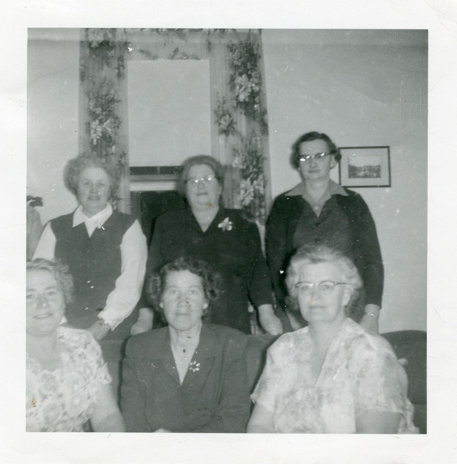 Iron Bridge Women's Institute Special Events, Circa 1955