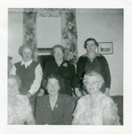 Iron Bridge Women's Institute Special Events, Circa 1955