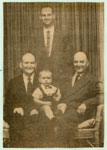 Portrait Of Mr. Alex Tulloch |And Family, Circa 1960