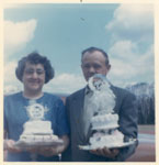 Mr. and Mrs. Alex Reid, Circa 1960