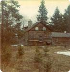 The Warnock Home, Iron Bridge, Circa 1960