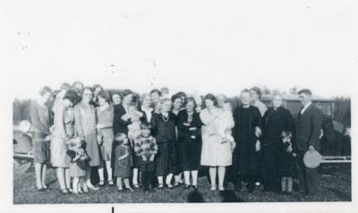 United Church Group, Iron Bridge, circa 1925