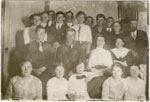 United Church Bible Class, Iron Bridge, 1910