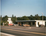 The Three Aces Restaurant, Highway 17, Iron Bridge, 1970