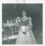 Mrs. Dougal Grigg, Horticultural Show, Iron Bridge, 1950