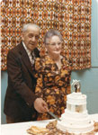 Mr. and Mrs. Max Tulloch, 50th Wedding Anniversary, 1975