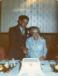 Mr. and Mrs. Tait, 50th Wedding Anniversary, Circa 1970