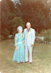 Mr. Percy Gardiner and Mrs. Hattie Gardiner (King) 50th Wedding Anniversary, 1975