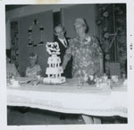 Mr. William Boville and Mrs. Mary Ann Boville (Morrison) 50th Wedding Anniversary, Iron Bridge 1964