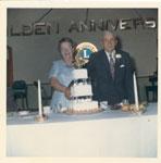 Mr. Joseph Degage and Mrs. Edith (Smith)Degagne  50th Wedding Anniversary, Iron Bridge 1967
