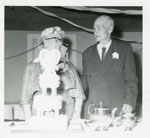 Mr. Edgar Hare and Mrs. Hazel Hare 50th Wedding Anniversary, 1960