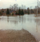 Flooding, Home on Mississaugi Crescent, Iron Bridge, 1979