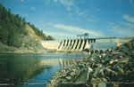 Red Rock Falls Hydro Dam, North of Iron Bridge, 1960