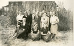 Women's Church Group, Iron Bridge, Circa 1935