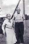Rebecca and John Thomas Carlyle, Circa 1900