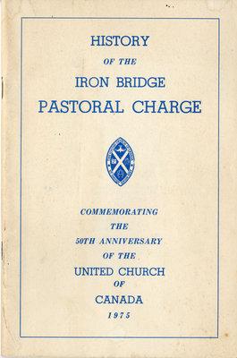 History of Iron Bridge Pastoral Charge, 1975