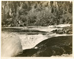 Slate Falls, Missisagi River, Iron Bridge, Circa 1950