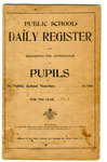Public School Attendance Register, Township of Gladstone and Bright, 1902