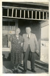 Mr. and Mrs. Wm Beharriell, Dean Lake Ontario, Circa 1960