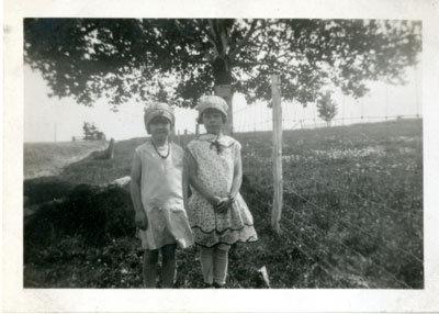 Viola (Tulloch) Warnock Cullis and Dorothea (Eaket) Morrison, Circa 1925