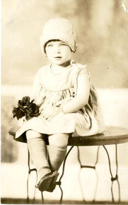 Audrey Merrett Dube, Circa 1925