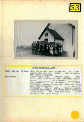 Through the Years, Iron Bridge United Church History, Vol. 2 (1943 - 1962)