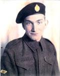 Portrait of Howard Bolton in Uniform, circa 1940