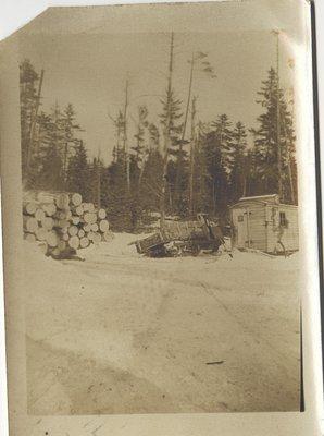 Empty Lyn Log Hauler, Circa 1930