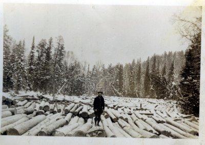 L .Trembley at Camp Wanaheyen, 1932