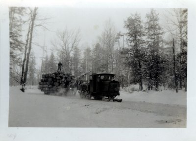 Lyn Tractor Towing A Load, Circa 1930