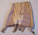 Peach Girdle With Six Garters, Circa 1935