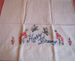 Embroidered Pillow Cases, Circa 1930
