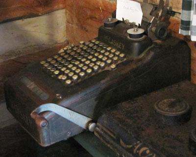 McCaskey Cash Register, Circa 1920