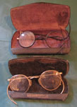 Wire Frame Eyeglasses In Cases, Circa 1920