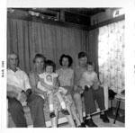 Mr. and Mrs. Richardson and The Allen Family, 1960