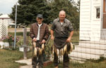 Jack Humphrey and George McClelland, Iron Bridge, 1981