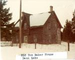 Old Tom Baker House, Dean Lake, 1976